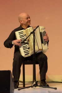 Accordeonist Magdy Tewfik